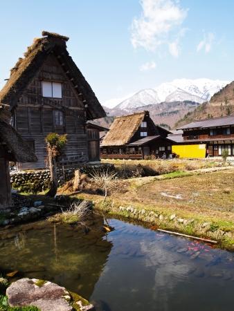 shirakawa go: House at The world heritage village Shirakawa-go , Gifu , Japan