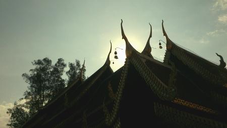 gables: Nakas gables in lanna temple
