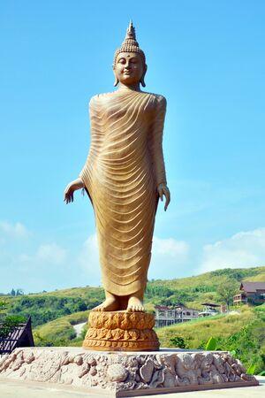 Big Buddha em Tail Banco de Imagens