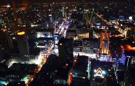 Night in Bangkok Banco de Imagens