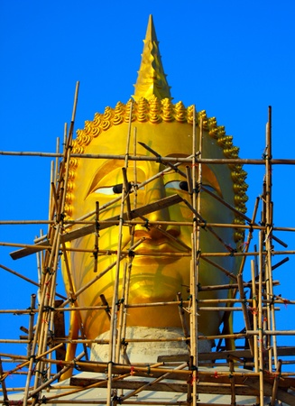 Buddha statue in Thailand Stock Photo