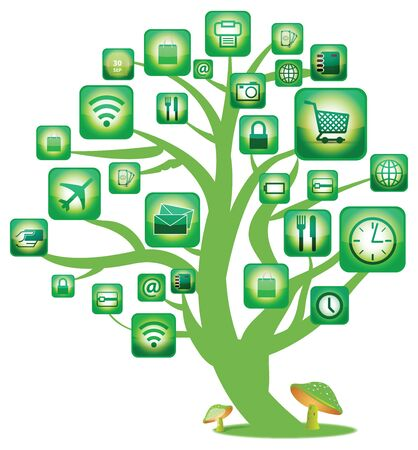 Green Tree Social Network