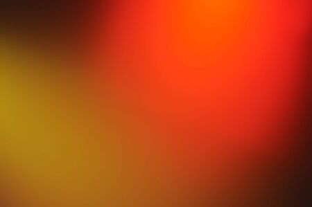 Blurred Abstract colorful light of the night background. Summer backdrop or warm ,hot color abstract yellow,orange,colorful wall paper associated with sun and fire.
