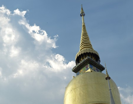 Wat Suan Dok, Chiang Mai, Thailand Stock Photo