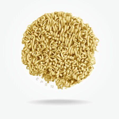 vector - instant noodles