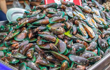 seafood market in Naklua near Pattaya Banque d'images