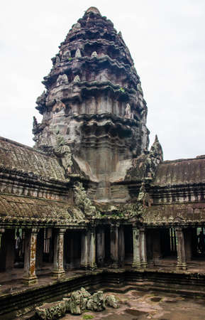 Angkor is a region near the city of Siem Reap in Cambodia, which was the center of the historic Khmer kingdom of Kambuja from the 9th to the 15th centuries.