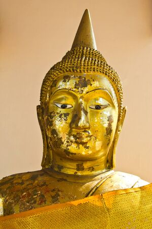 countenance: this picture is transfer the short time for shows the countenance in the image of Buddha that expresses to arrive at kindness ,