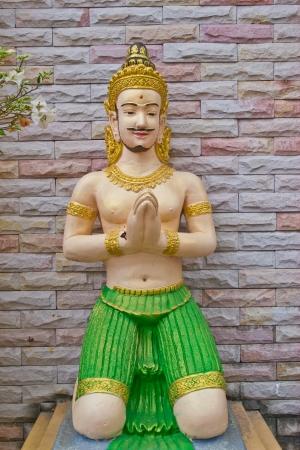 moulded: figura moldeada en Chonburi Tailandia Foto de archivo