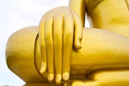 Hand of God at  at wat mung photo