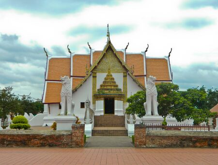 nant: wat nant temple of thailand