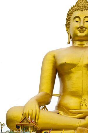 big buddha at thailand. Stock Photo - 15327541