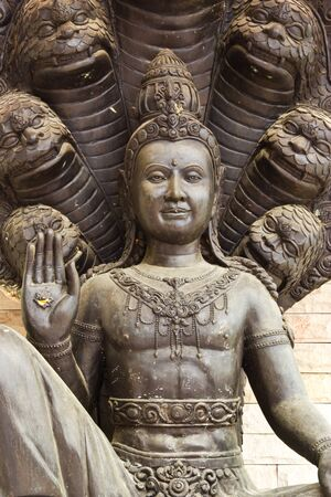 old Stone Buddha Statue at thailand Stock Photo - 15351511