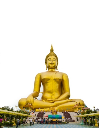 big buddha at thailand  Stock Photo - 15355884