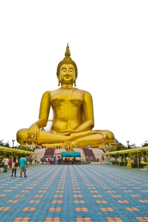 big buddha at thailand  Stock Photo - 15355894