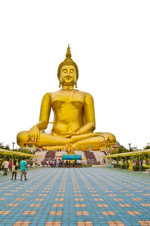 big buddha at thailand  Stock Photo - 15355890