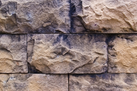 background of brick wall texture at chonburi photo