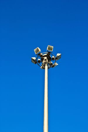 lamp post electricity industry Stock Photo - 16417886