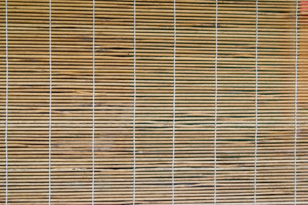 Bamboo Curtain On The Windows Stock Photo Picture And Royalty Free