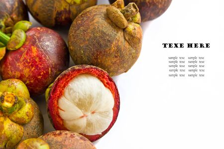 tropical fruit, mangosteen Stock Photo - 17168776