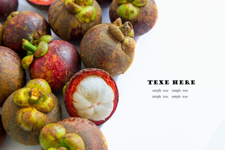 tropical fruit, mangosteen Stock Photo - 17168968