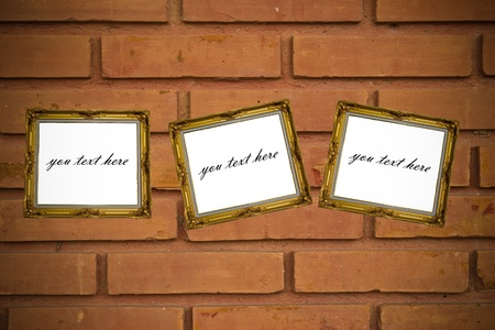 background of brick wall texture Stock Photo - 17583205