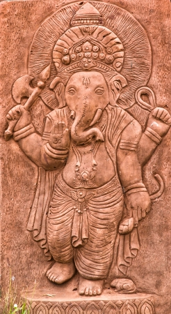 ganesh sculpture Stock Photo - 17583238