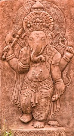 ganesh sculpture Stock Photo - 17583238