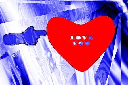 heart background Stock Photo - 17730429