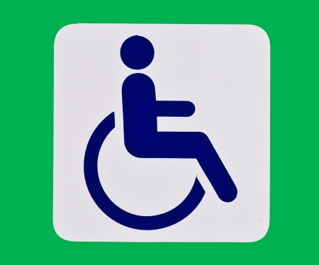 restrooms Sign photo