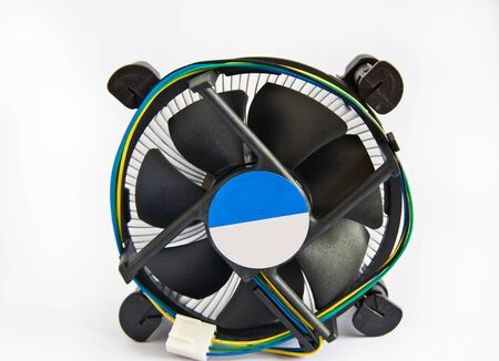 electrical part: computer fan Stock Photo