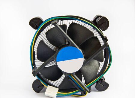 overheat: computer fan Stock Photo