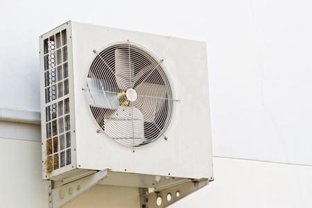 compresor: Metal blanco del compresor de aire