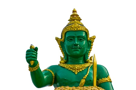 sublime: indra statue in Thailand