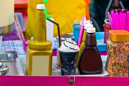 shop sells icecream in Thai Stock Photo - 17939807