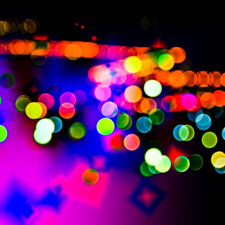 Bokeh background of design abstract photo