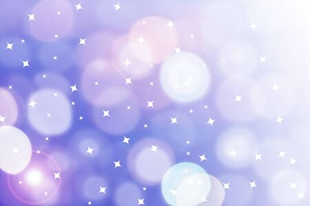 Colorful background with stars photo