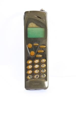 old cell phone: old cell phone Stock Photo