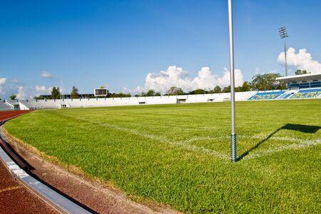 synthetic: football field