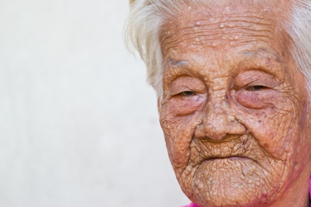 old woman portrait photo