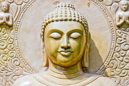 Buddha close up portrait at thailand Stock Photo - 19971198