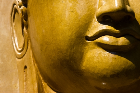 Buddha close up portrait at thailand Stock Photo - 20137490