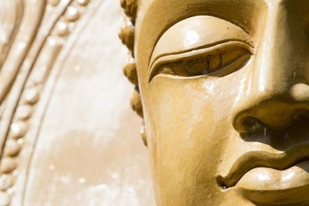 Buddha close up portrait at thailand Stock Photo - 20137491