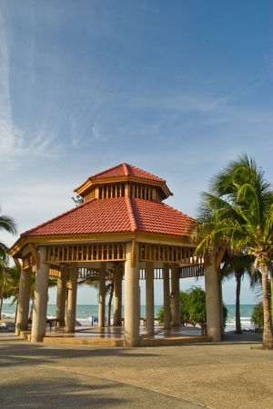 tropical pavilion at rayong thailand photo