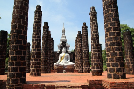 phra nakhon si ayutthaya: Buddha in Phra Nakhon Si Ayutthaya Stock Photo