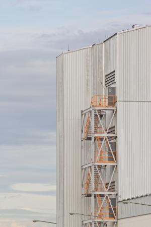 overall: Vista general de una f�brica de cemento