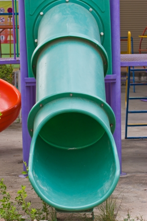 Empty playground Stock Photo - 21355161