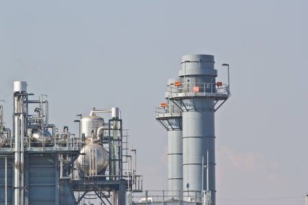 Natural Gas Combined Cycle Power Plant photo