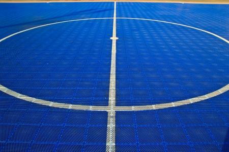 futsal field at cholburi thailand Stock Photo