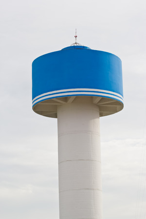 Water tank in thailand photo